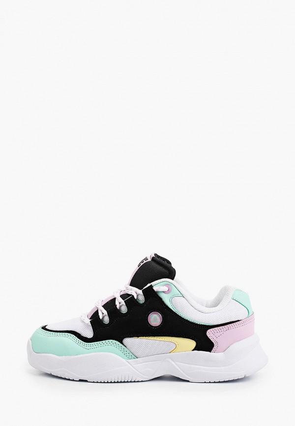 женские низкие кроссовки dc shoes, разноцветные