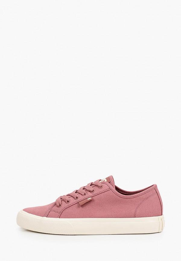 женские кеды dc shoes, розовые