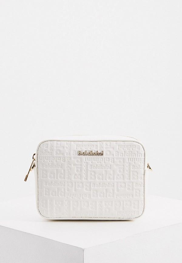 женская поясные сумка baldinini, белая