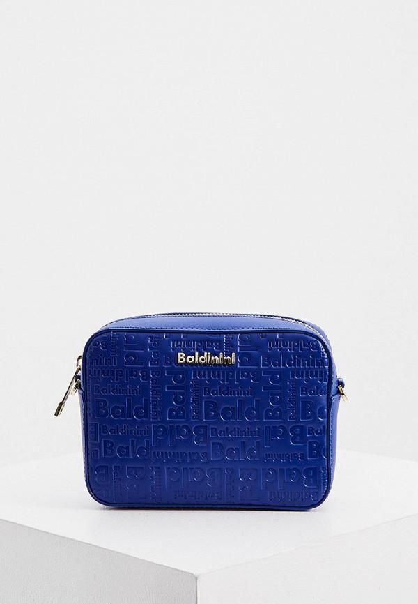 женская поясные сумка baldinini, синяя