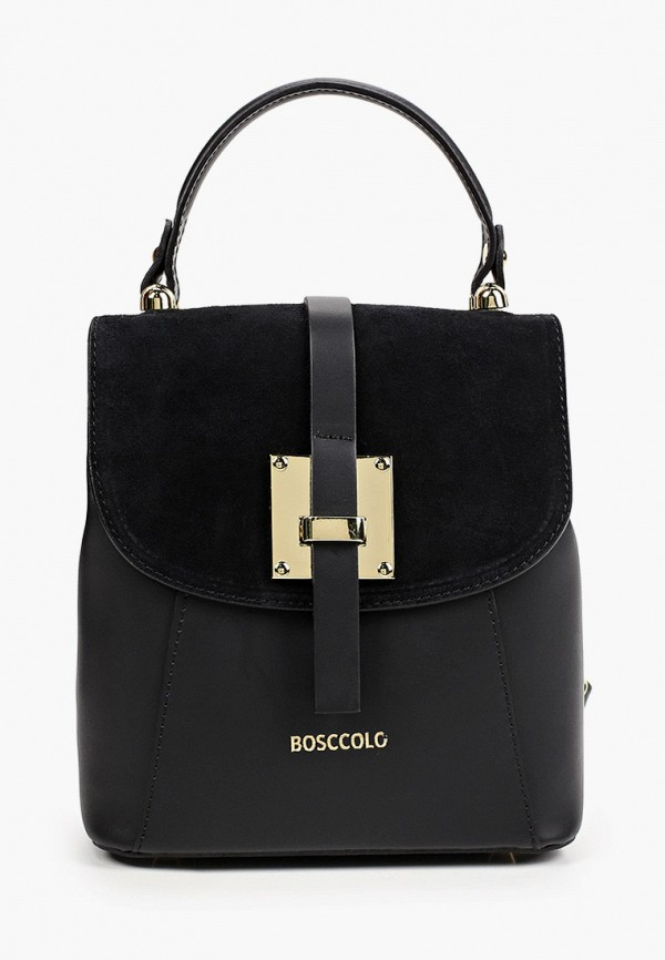 женский рюкзак bosccolo, черный