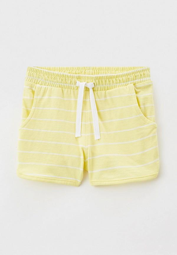 шорты name it для девочки, желтые