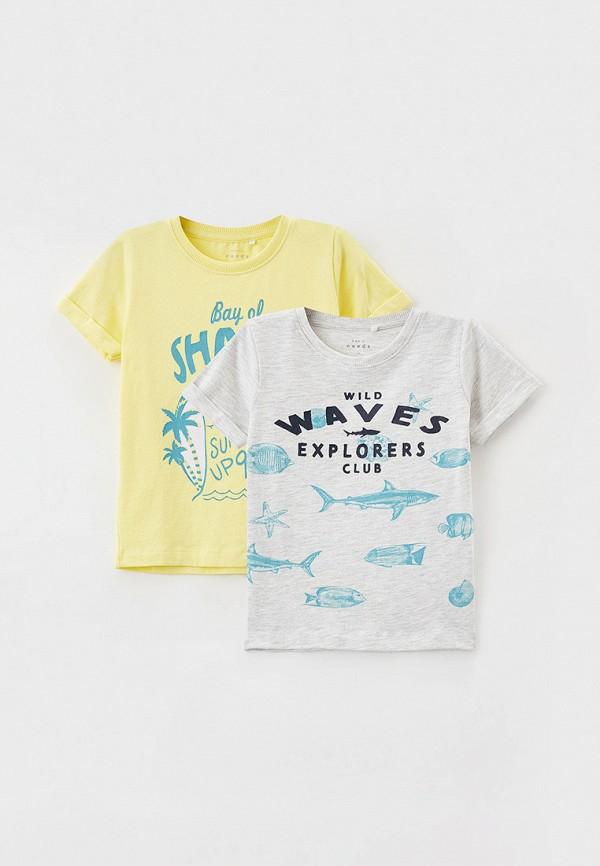 футболка с коротким рукавом name it для мальчика, разноцветная