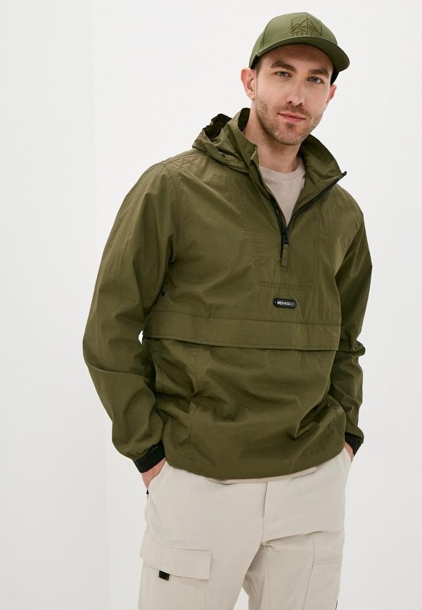 мужская куртка анораки dc shoes, хаки