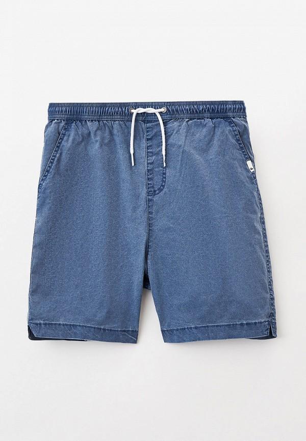 джинсовые шорты quiksilver для мальчика, синие