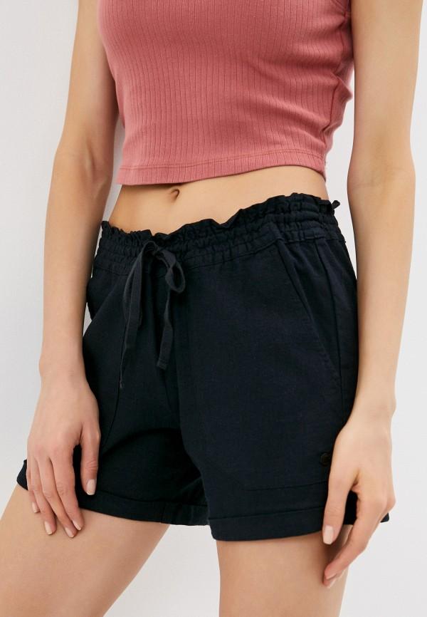 женские повседневные шорты roxy, черные