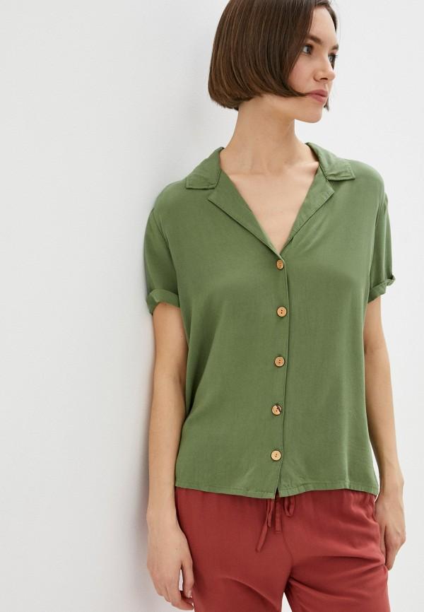 женская блузка roxy, хаки