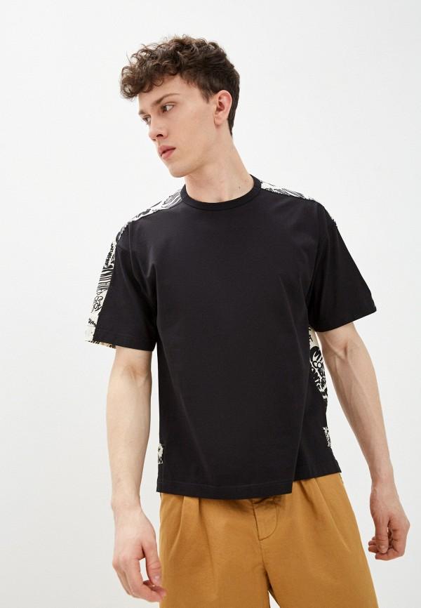 мужская футболка с коротким рукавом marni, разноцветная