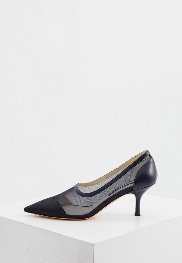 женские туфли-лодочки rochas, черные