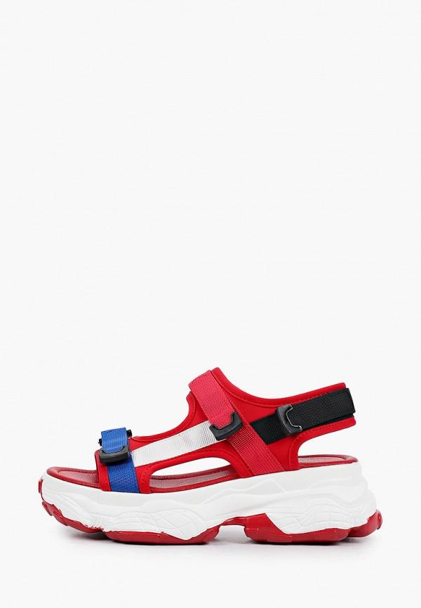 женские босоножки diora.rim, красные