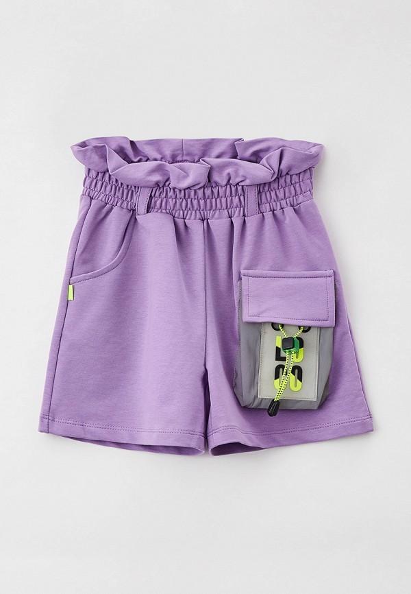 шорты dali для девочки, фиолетовые