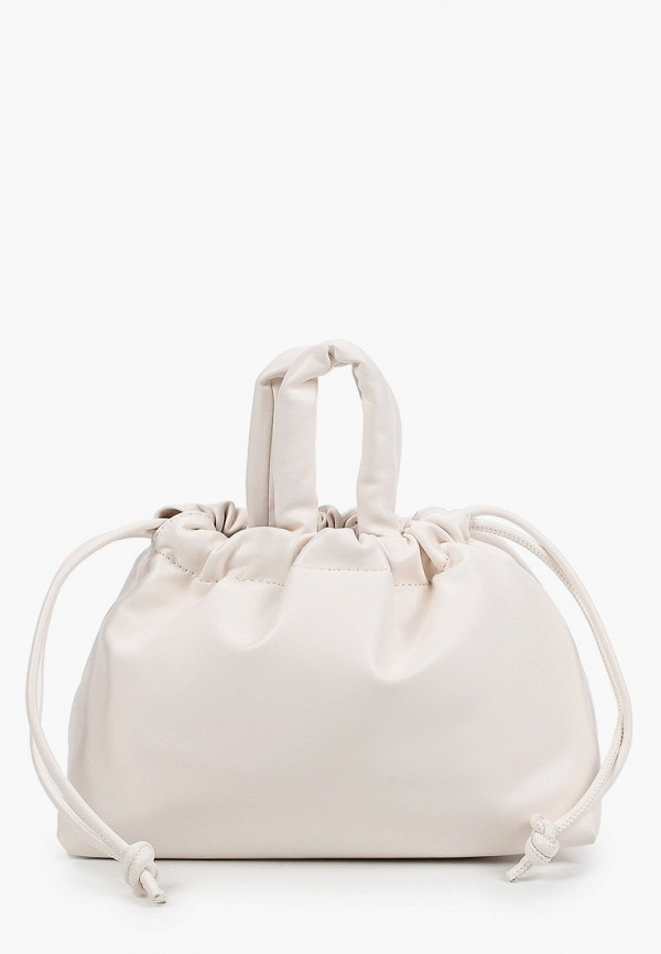 женская сумка-ведро aaquamarina, белая
