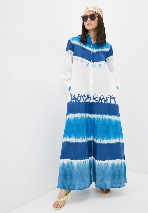 Платье Alberta Ferretti Alberta Ferretti J0475146 синий фото