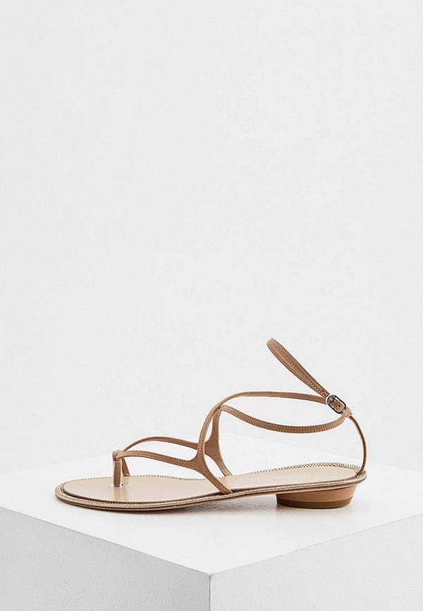 женские сандалии le silla, коричневые