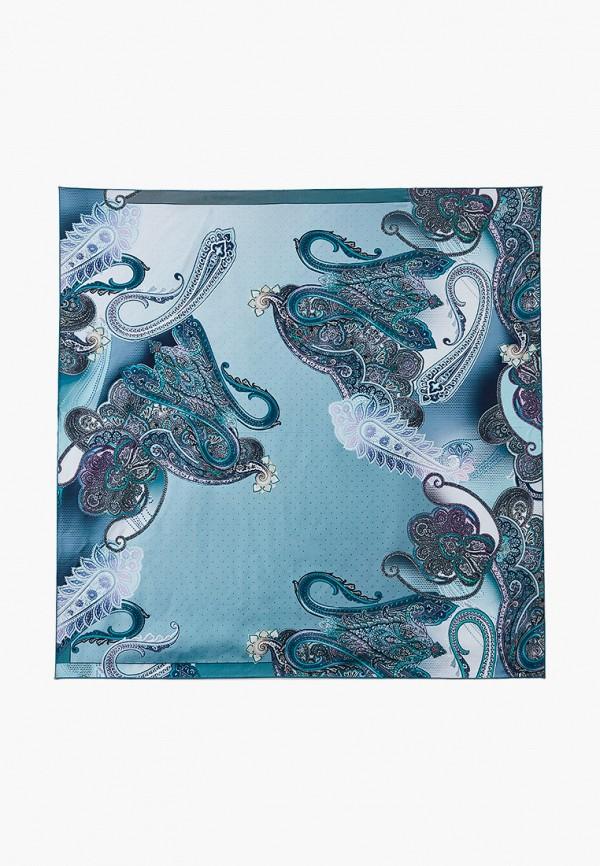 женский платок fabretti, бирюзовый