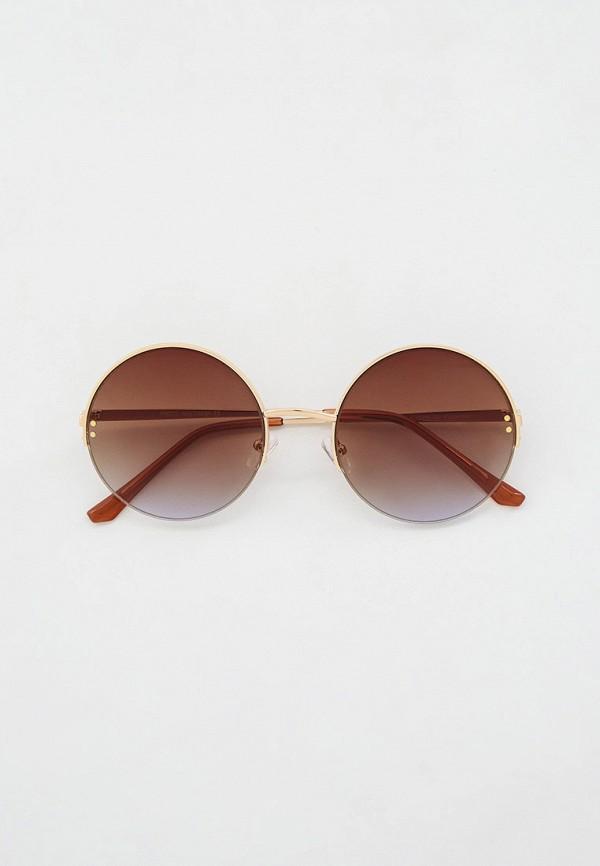Очки солнцезащитные Fabretti золотого цвета