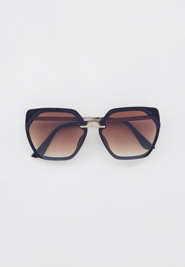 женские солнцезащитные очки fabretti, синие