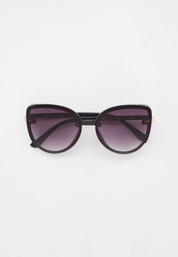 Очки солнцезащитные Fabretti черного цвета