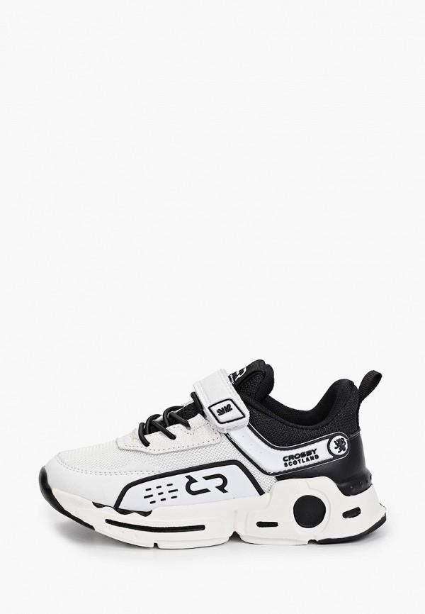 кроссовки crosby для мальчика, белые