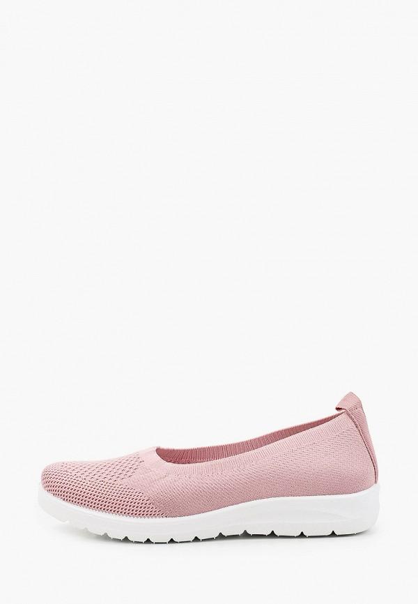 женские балетки crosby, розовые