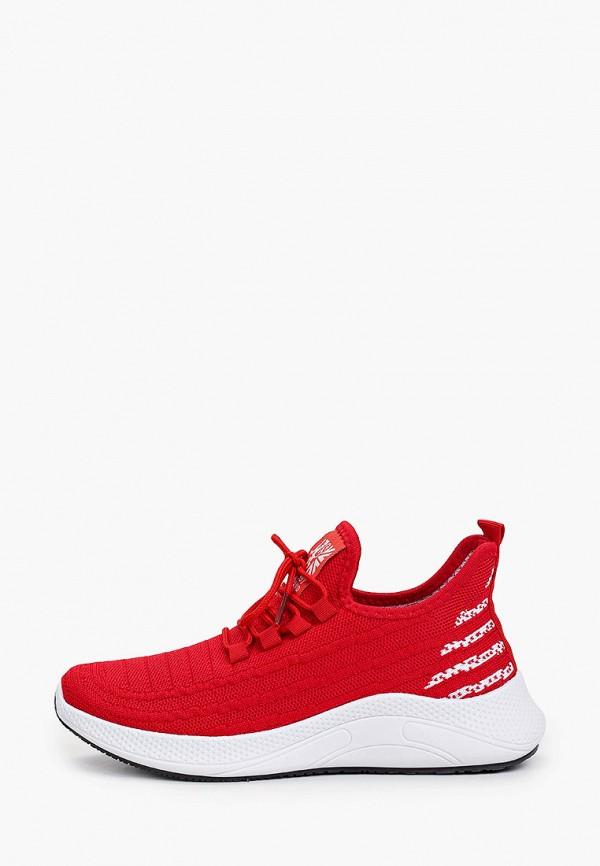 кроссовки crosby для мальчика, красные