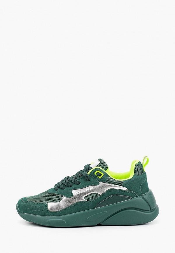 кроссовки keddo для девочки, зеленые