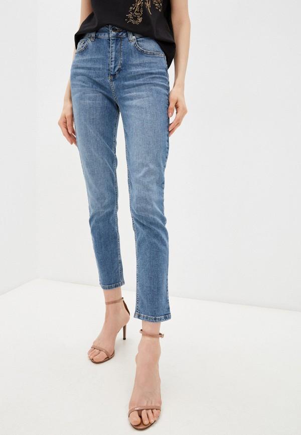 женские джинсы скинни liu jo, голубые