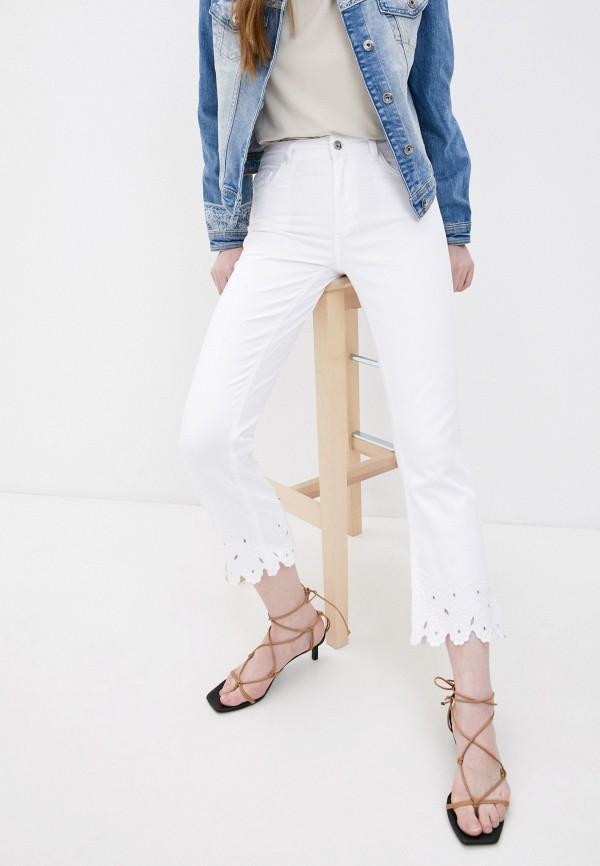 женские прямые джинсы liu jo, белые