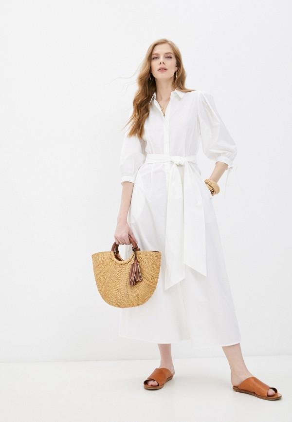 женское платье-рубашки liu jo, белое