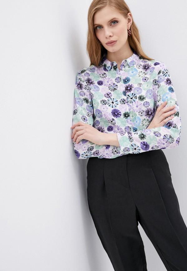 женская блузка с длинным рукавом armani jeans, белая