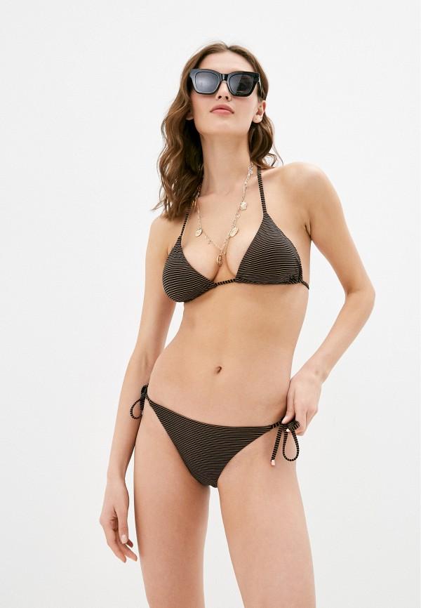 женский купальник emporio armani, черный