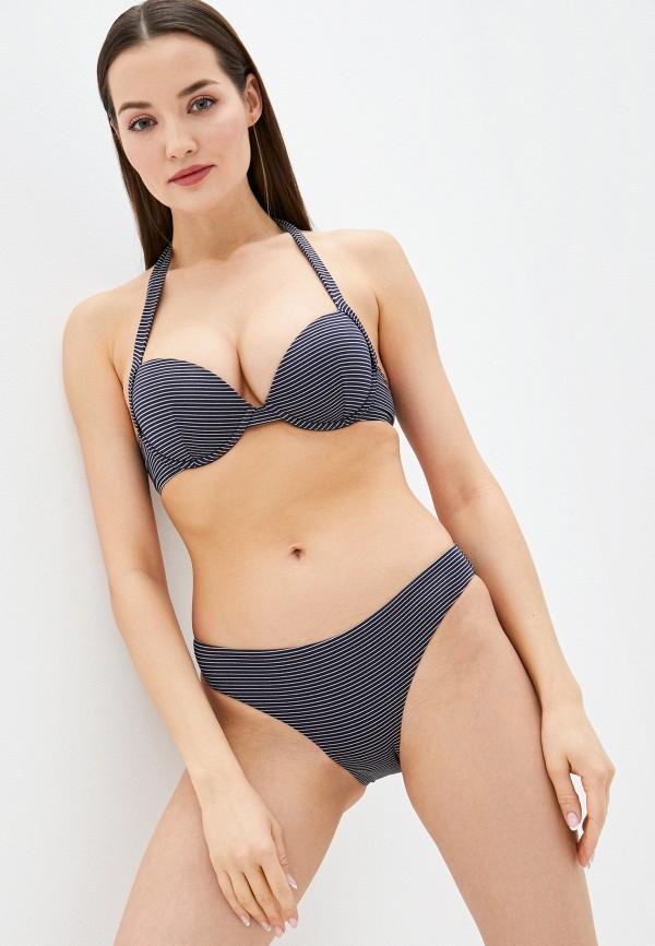 женский купальник emporio armani, синий