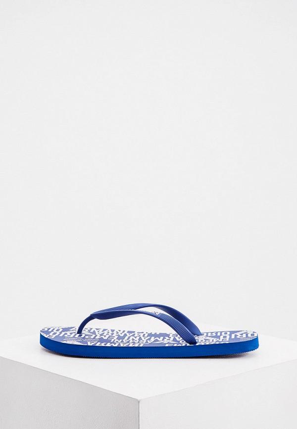 мужские сланцы emporio armani, синие
