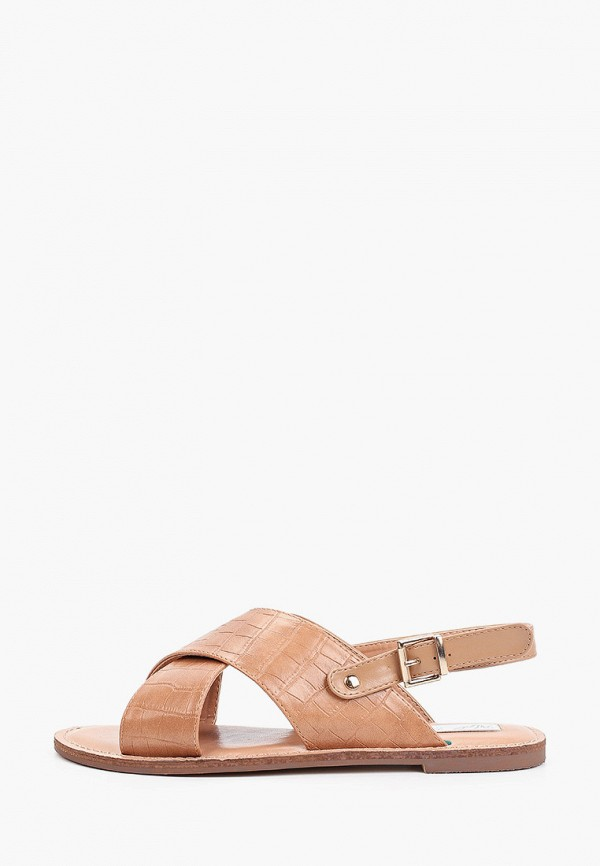 женские сандалии patrol, коричневые