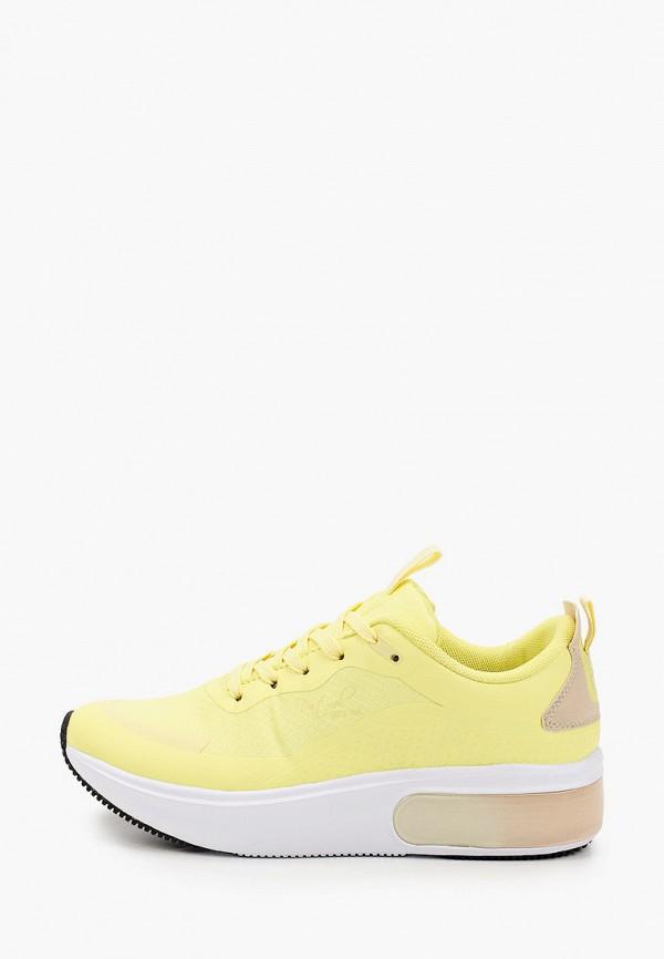 женские низкие кроссовки patrol, желтые