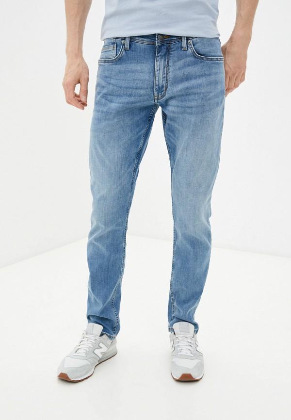мужские зауженные джинсы s.oliver, голубые
