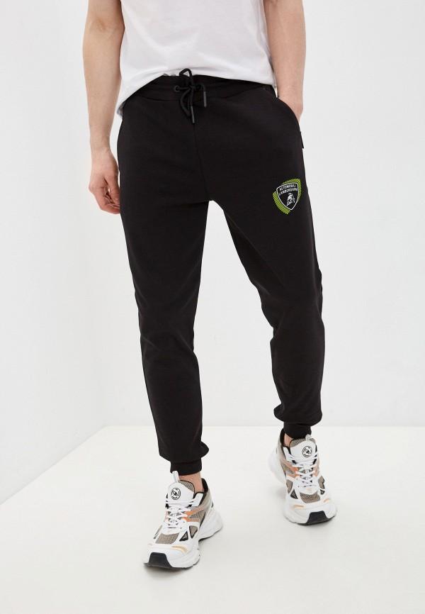 мужские спортивные брюки automobili lamborghini, черные