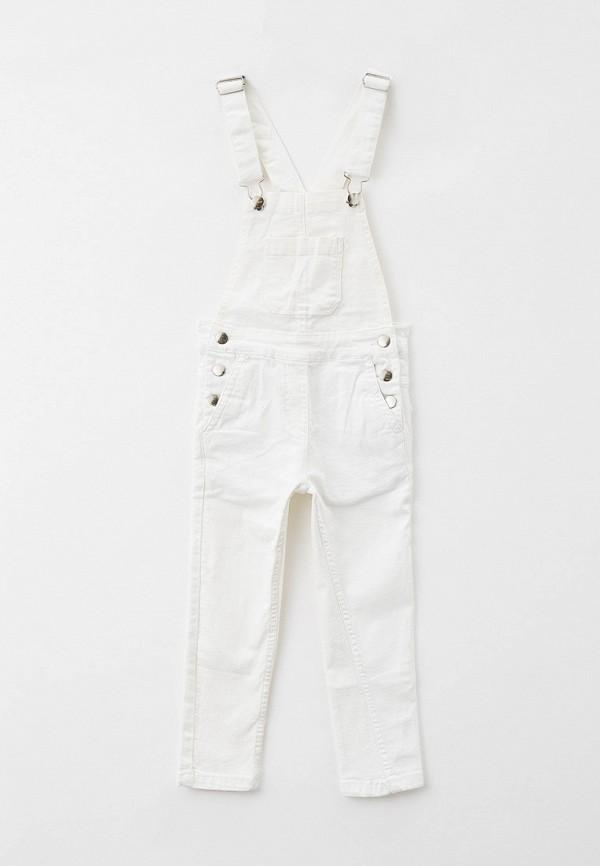 джинсовые комбинезон code для девочки, белый