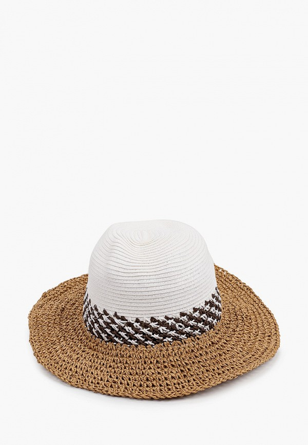 женская шляпа code, коричневая