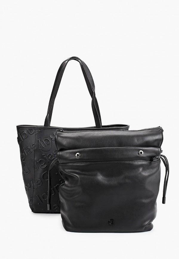 женская сумка desigual, черная
