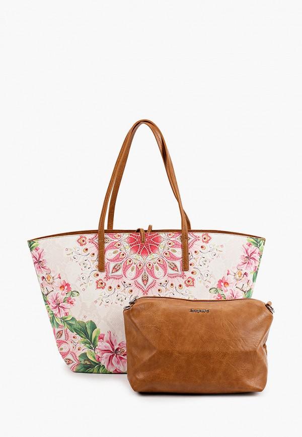 женская сумка desigual, разноцветная