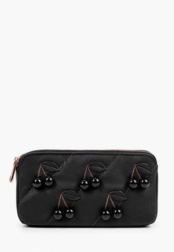 женская сумка через плечо tosca blu, черная