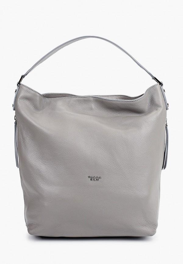 женская сумка-шоперы tosca blu, серая