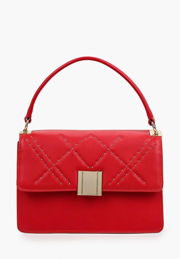 женская сумка с ручками tosca blu, красная