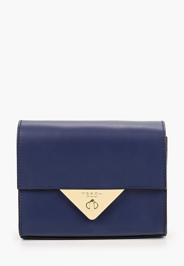 женская сумка через плечо tosca blu, синяя