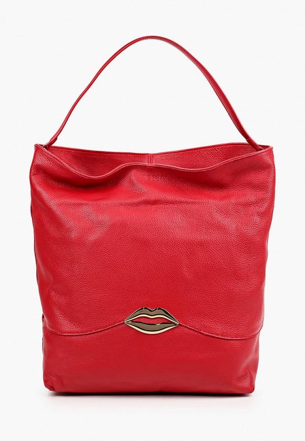 женская сумка-шоперы tosca blu, красная
