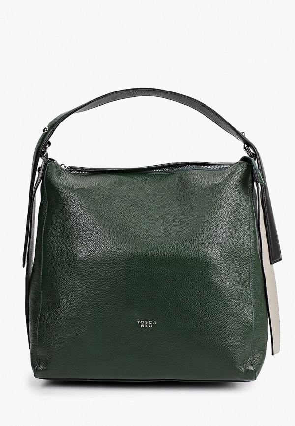 женская сумка-шоперы tosca blu, зеленая