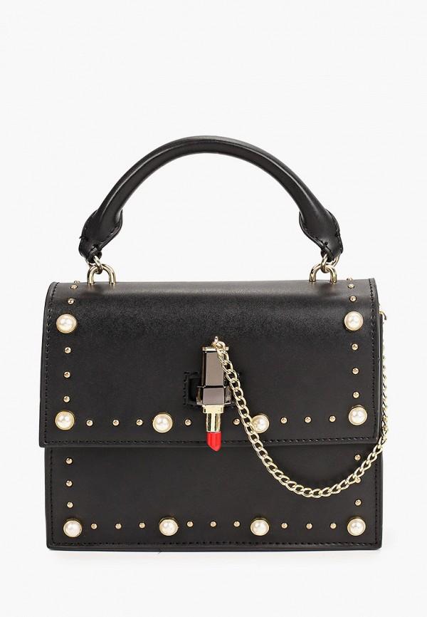 женская сумка с ручками tosca blu, черная