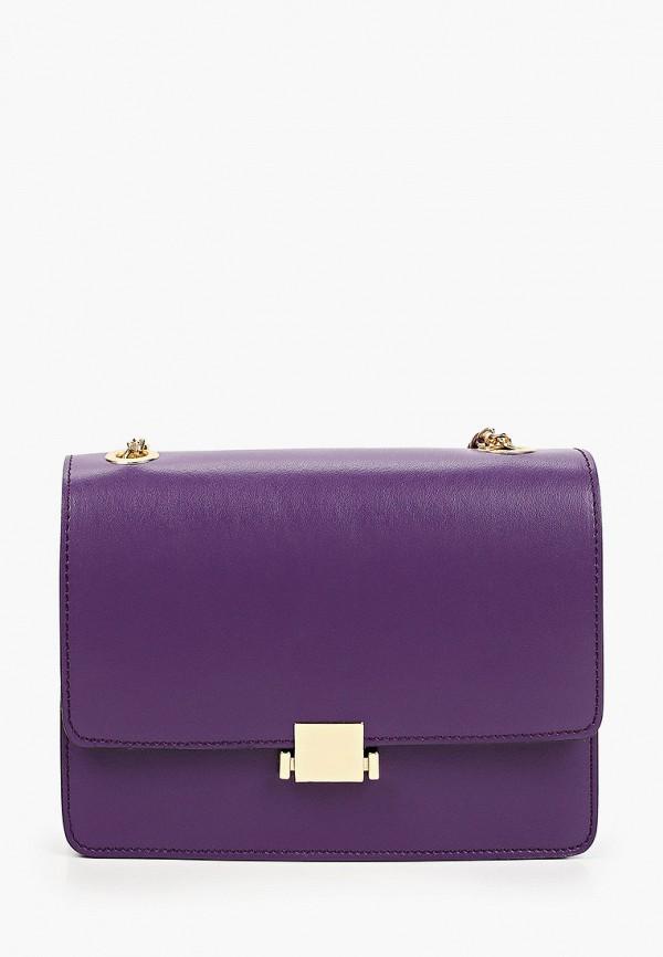женская сумка через плечо tosca blu, фиолетовая