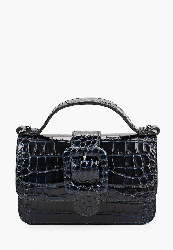 женская сумка с ручками tosca blu, синяя